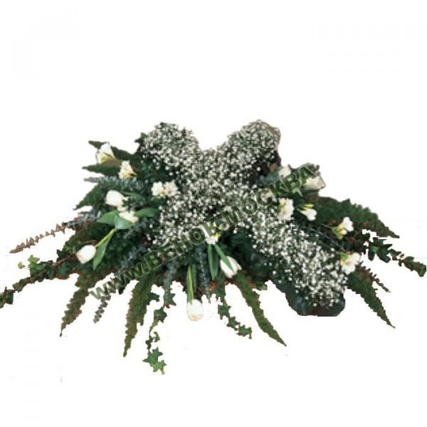 Венок из живых цветов ВЖКр-11